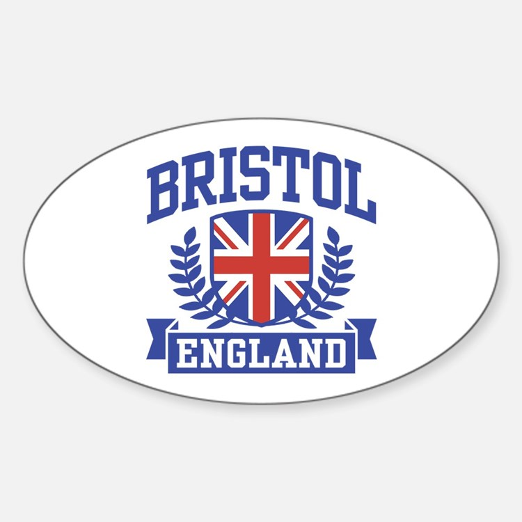 Bristol England Sticker (Oval)