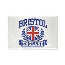 Bristol England Rectangle Magnet