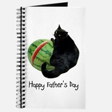 Cat Watermelon Father's Day Journal