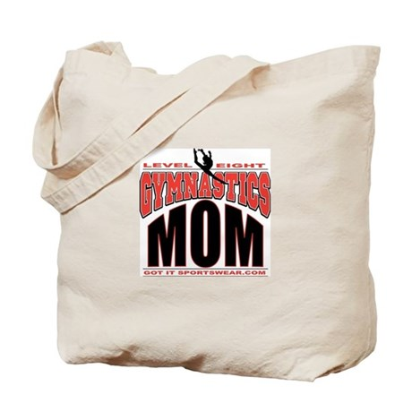 Gymnastics Level 8 Mom Tote Bag