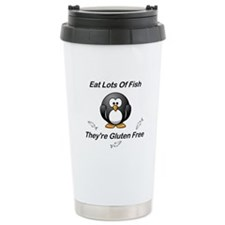 Eat Lots Of Fish Travel Mug