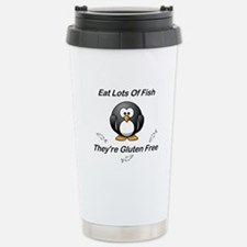 Eat Lots Of Fish Travel Mug