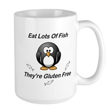 Eat Lots Of Fish Mug