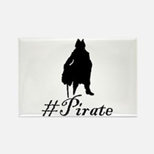 # Pirate Rectangle Magnet