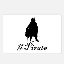 # Pirate Postcards (Package of 8)