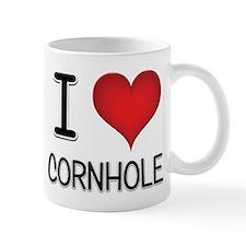 I Love Cornhole Mug