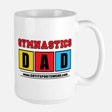 Gynastics Dad Mug