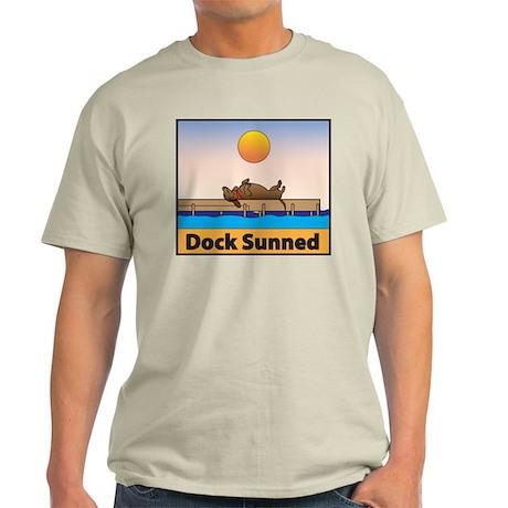 Dock Sunned Dachsund Light T-Shirt