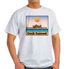 Dock Sunned Dachsund T-Shirt