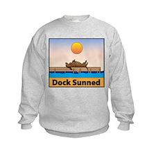 Dock Sunned Dachsund Sweatshirt