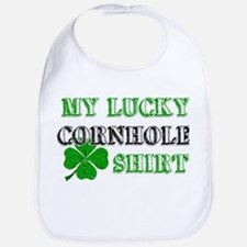 My Lucky Cornhole Shirt Bib