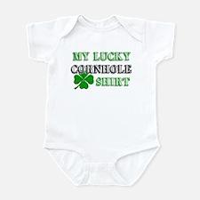 My Lucky Cornhole Shirt Infant Bodysuit