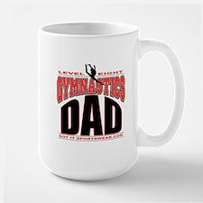 Gymnastics Dad Level 8 Mug