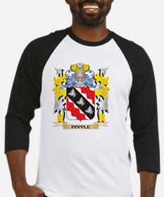 Popple Family Crest - Coat of Arms Baseball Jersey