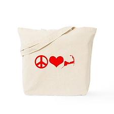 Peace Love Cape Cod Tote Bag
