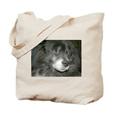 Black Chow Mix Tote Bag