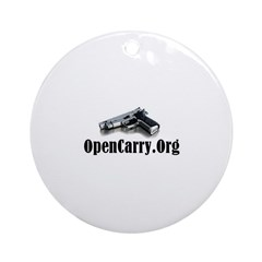 OpenCarry.Org Ornament (Round)