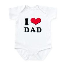I Love Dad Infant Creeper