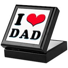 I Love Dad Keepsake Box
