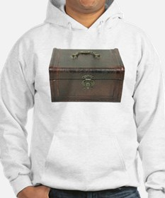 Fancy leather box Hoodie