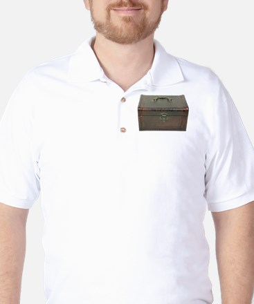 Fancy leather box Golf Shirt