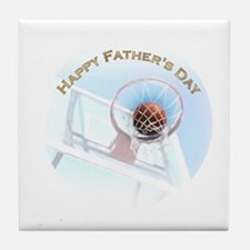 Unique Good fathers day Tile Coaster