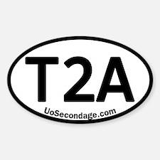 3-T2A_5x3oval_sticker copy Decal