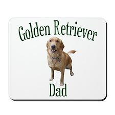 Golden Retriever Dad Mousepad