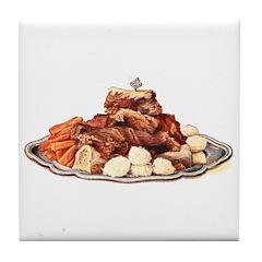 Boiled Beef Tile Coaster