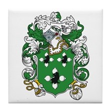 Plott Coat of Arms Tile Coaster