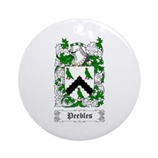 Peebles Ornament (Round)