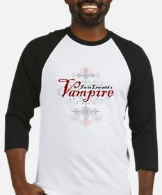 I'm in Love with a Vampire Baseball Jersey