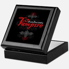 I'm in Love with a Vampire Keepsake Box