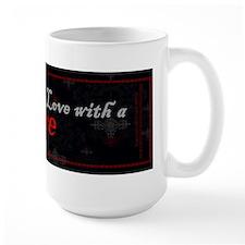 I'm in Love with a Vampire Ceramic Mugs
