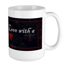 I'm in Love with a Vampire Ceramic Mugs