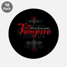 """I'm in Love with a Vampire 3.5"""" Button (10 pack)"""