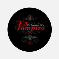 """I'm in Love with a Vampire 3.5"""" Button (100 pack)"""