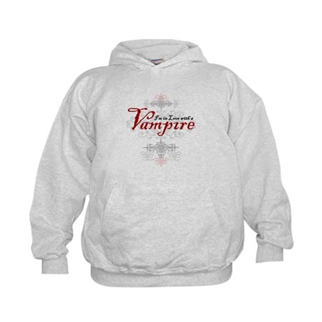 I'm in Love with a Vampire Kids Hoodie