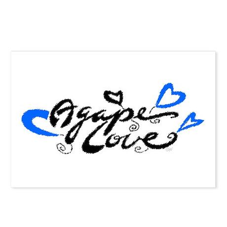 Agape Love Postcards (Package of 8) by katrinaart