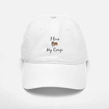 I Love My Corgi Baseball Baseball Cap