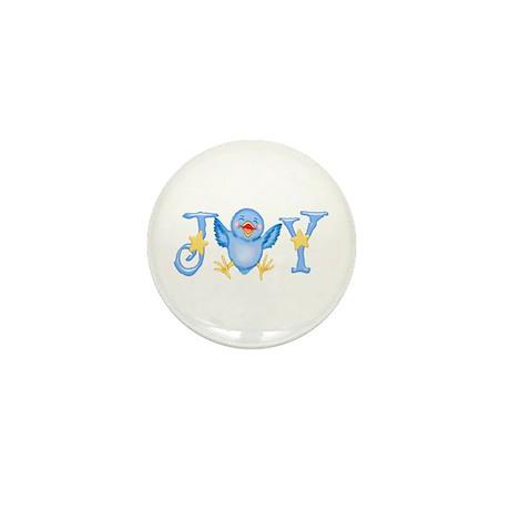Joy: Bluebird Mini Button (10 pack)