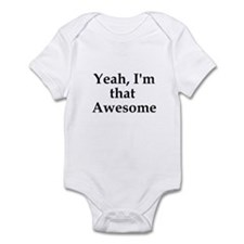 Funny Awesom Infant Bodysuit