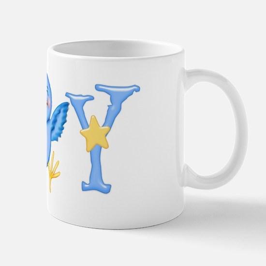 Joy: Bluebird Mug