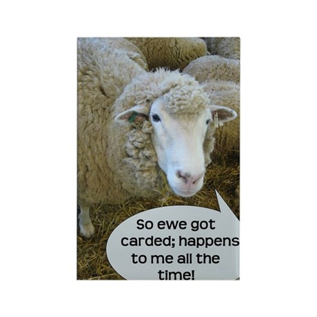 Carded, eh? Rectangle Magnet (10 pack)