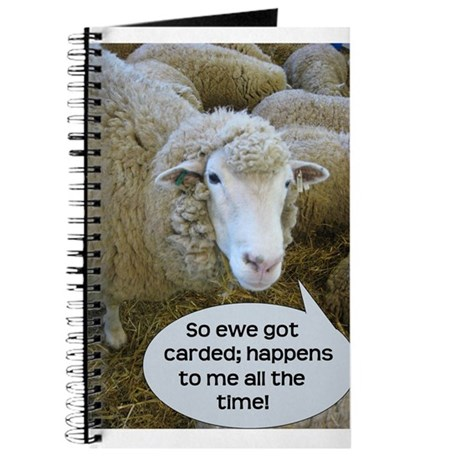 Carded, eh? Journal