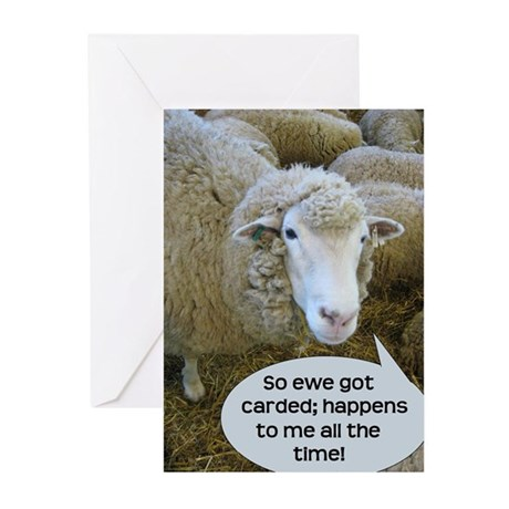 Carded, eh? Greeting Cards (Pk of 10)