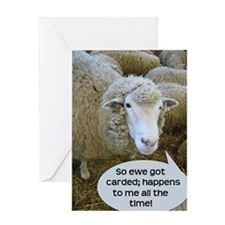 Carded, eh? Greeting Card