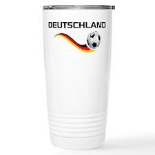 Soccer DEUTSCHLAND Travel Mug