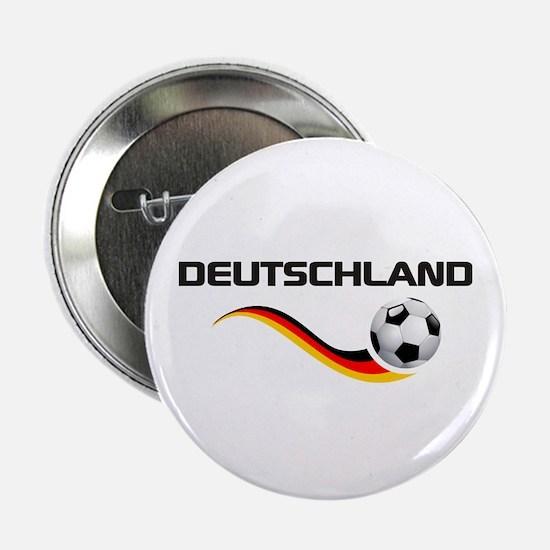 """Soccer DEUTSCHLAND 2.25"""" Button"""