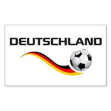 Soccer DEUTSCHLAND Decal